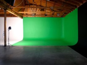 Green screen studio LA
